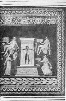 8. The design copied by Wedgwood for the vase in fig. 1. Illustration from d'Harcanville's catalogue, of Greek vases in the collection of William Hamilton.
