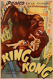 King Kong - 1933 Poster nationality: Argentine