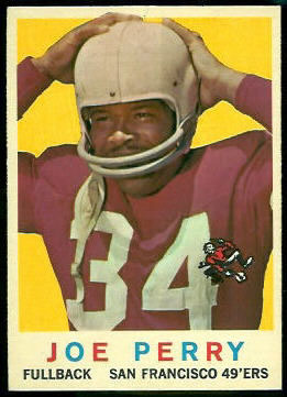 1959 Topps #80 Joe Perry, San Francisco 49ers