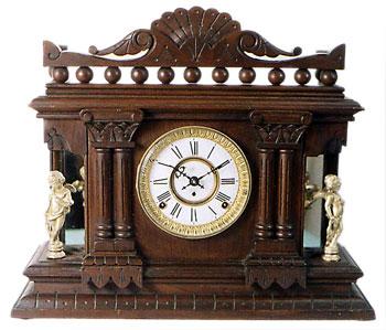 Cabinet No. 16 by Kroeber Clock Co., New York, NY ca. 1880