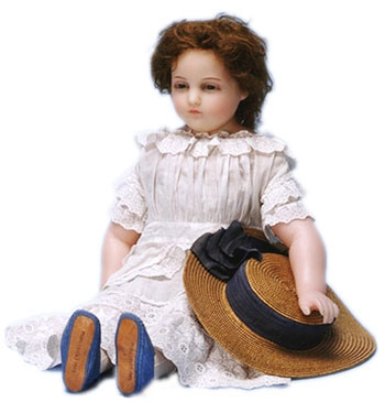 Antique Dolls, from Wood and Wax to Kewpie