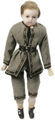 Wax Boy Doll made about 1860.