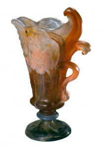 Vase by Emile Gallé from Nancy, 1904