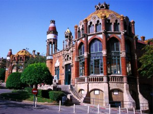 Hospital de la Santa Creu i Sant Pau (Hospital of the Holy Cross and Saint Paul) in Barcelona