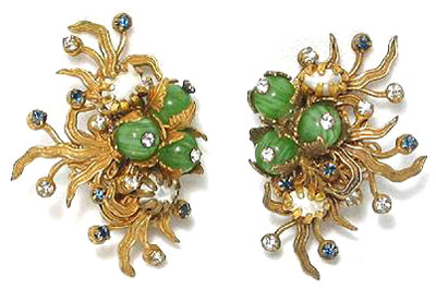 Earrings 1963 - 1964. Frank Hess design.