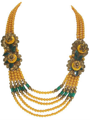 Necklace early 1940s. Frank Hess design.