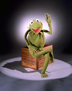Kermit the Frog is a popular attraction at the Smithsonian's National Museum of American History.
