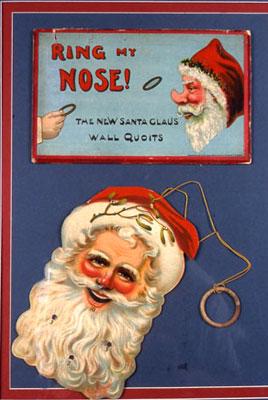 Santa Claus ephemera.