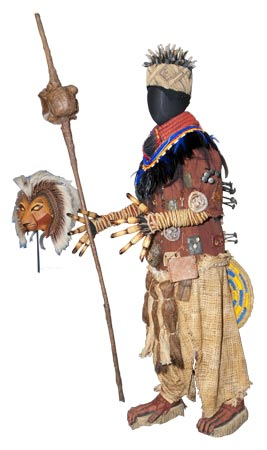 Costume from The Lion King