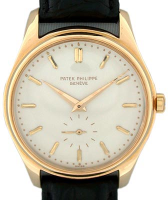 Patek Philippe's 18K gold reference 2526 from 1954 was the firm's first automatic wristwatch—only 580 were produced.