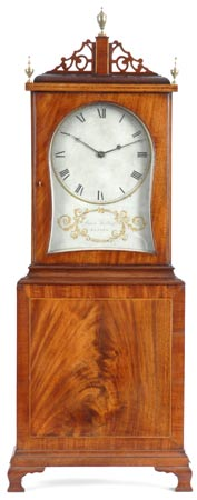 "An early ""Massachusetts Shelf Clock"" by Aaron Willard, Boston, Mass, circa 1800."