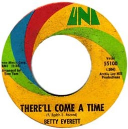 "Betty Everett's first hit was ""You're No Good"" in 1964. This 45 is from 1970."