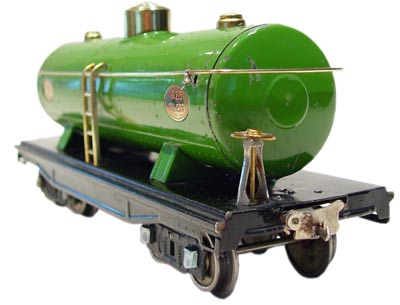 Another classic prewar Lionel standard gauge car was the 215 tanker.