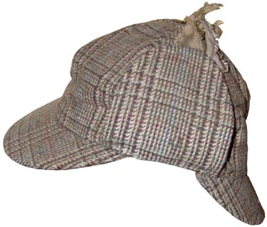 Sir Arthur Conan Doyle did not dress his Sherlock Holmes character in a deerstalker hat, but Hollywood did.