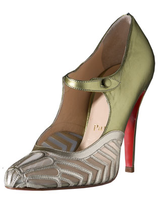 Stiletto heels designed by Christian Louboutin, 2007, France
