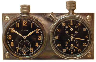 Early Hervue Pair (RMP6) -- said to have been used for many years in the control tower of the Geneva airport.