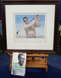 "Dunbar appraised these non-sports Bobby Jones items, a print and an autographed book, at a 2009 stop of ""Antiques Roadshow."""