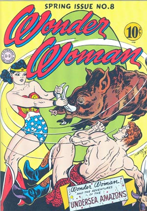 """A psychologist named William Marston created """"Wonder Woman"""" to give girls a strong role model."""