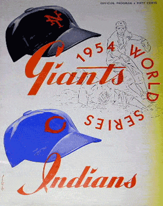 A souvenir from the last time the Giants won a World Series.