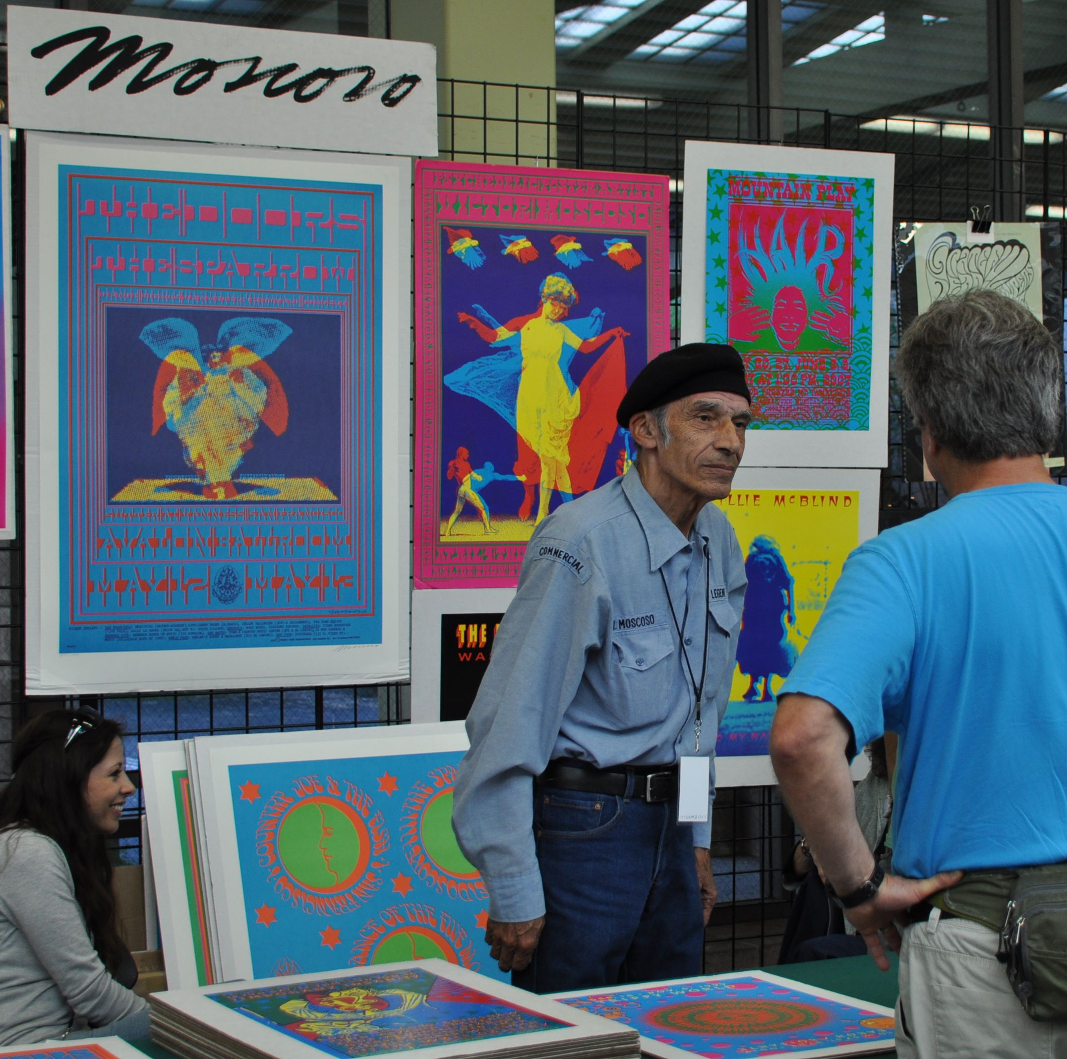 Victor Moscoso is one of the most respected artists from the San Francisco scene of the 1960s.