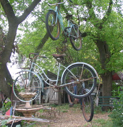 One particularly memorable episode from season two included a visit with Hippie Tom, who owned so many bicycles he hung them from the trees like works of art.