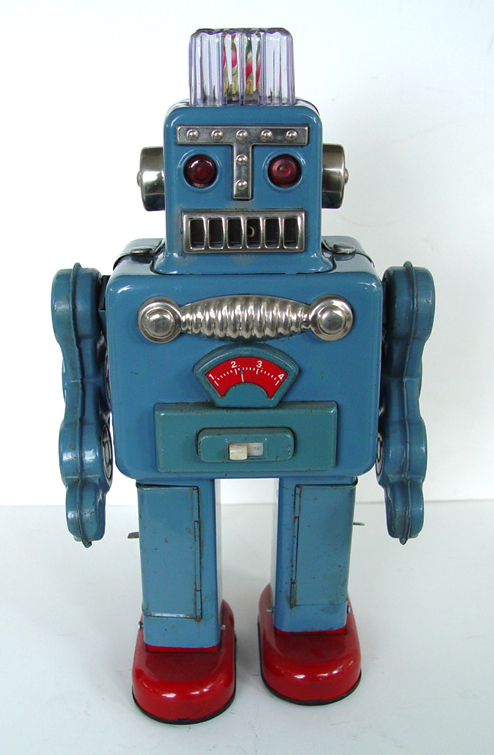 Vintage Japan Tin Toys : Attack of the vintage toy robots justin pinchot on japan