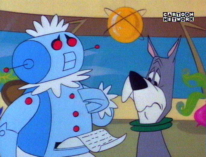 "In ""The Jetsons,"" Rosie the robotic maid did household chores."