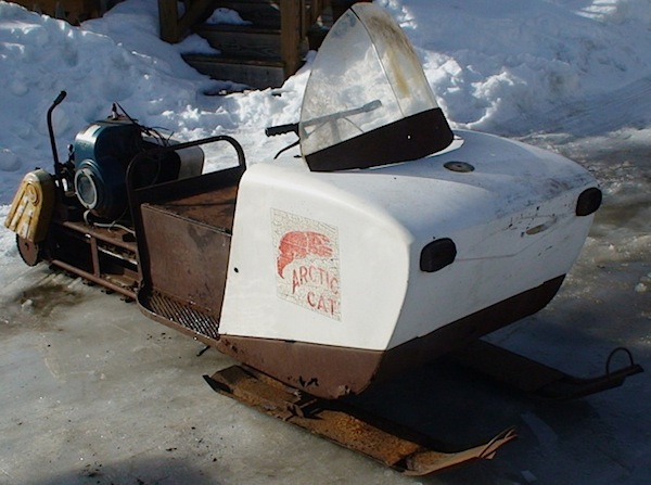 Their 1964 Arctic Cat model 170D, one of only 58 produced