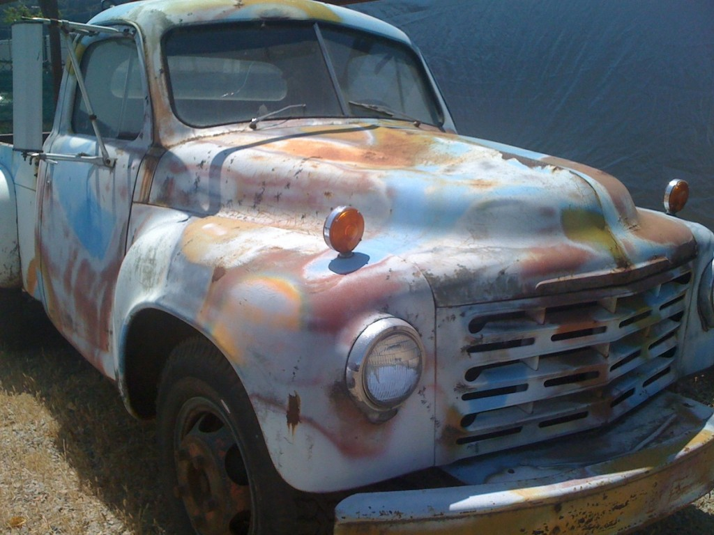 Owsley Stanley's 1-ton Studebaker truck moved the Dead's sound around.