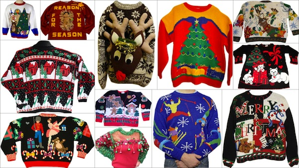 Every December, people of all stripes make the rounds of their neighborhood Christmas parties decked in their ugliest Christmas sweaters (see our list for