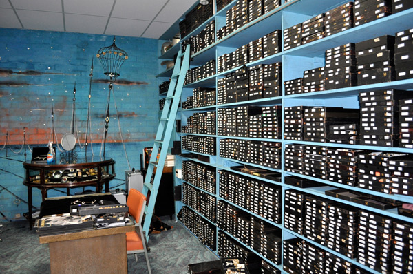 This turquoise vault of Hollywood treasures has been meticulously preserved through half a century.