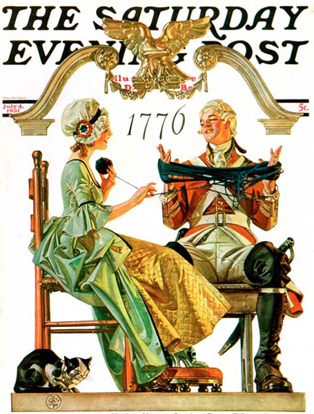 Saturday-Evening-Post-J.C.-Leyendecker-Truce-1931