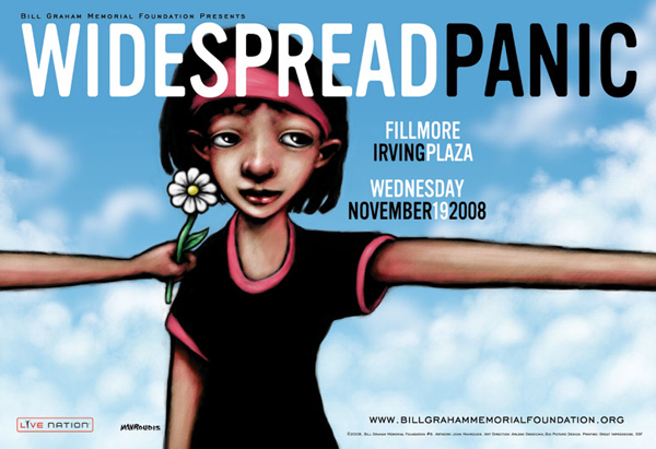 Widespread Panic, 2008, Irving Plaza, New York.