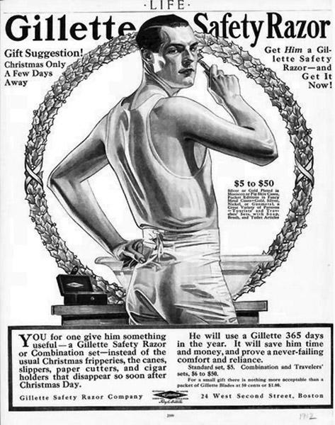 gillette 1912