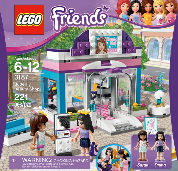 Lego Friends sets, marketed toward girls when they were released earlier this year, caused outrage. But the toys were a sales success.