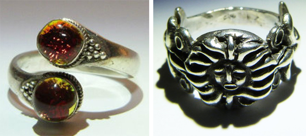"The maker of these ""demon rings"" claims to be a practitioner of black magic who has imbued them with spirits known as ""djinns,"" or genies."