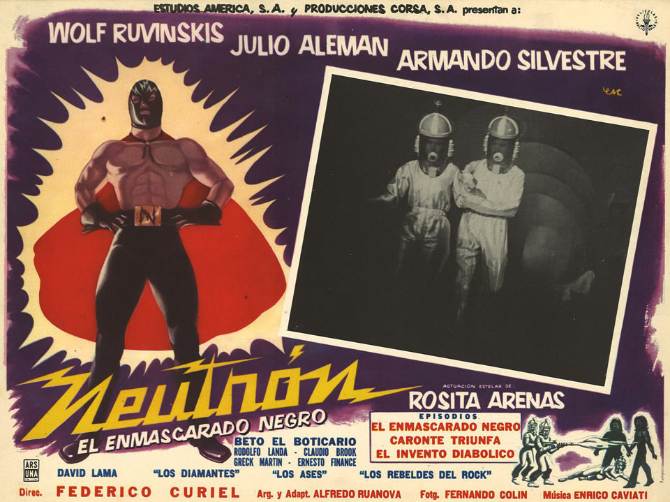The luchador or masked wrestler is Mexico's version of the American super-hero.