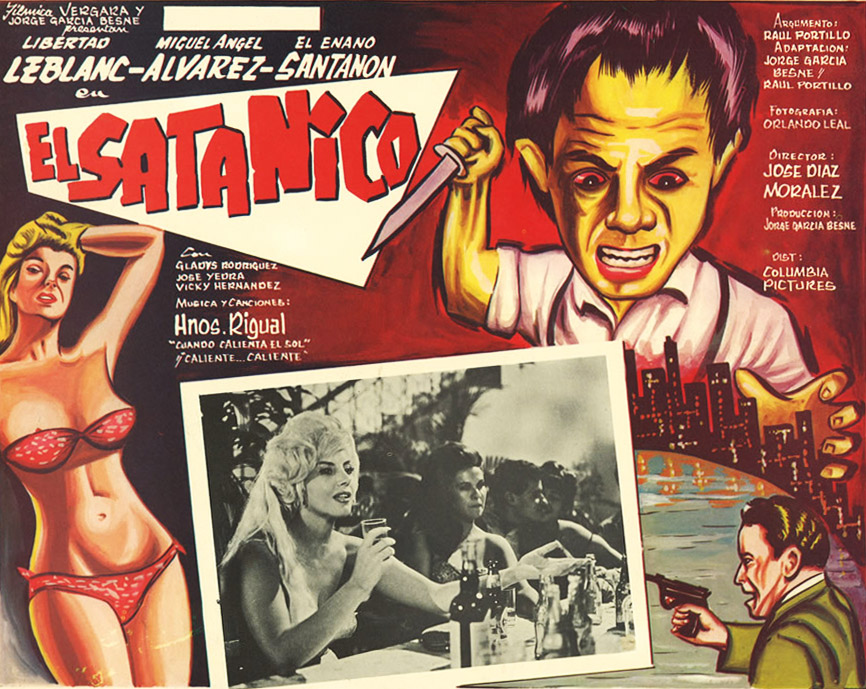 """El Satanico,"" or ""The Satanic,"" from 1968 plays up lobby card tropes."