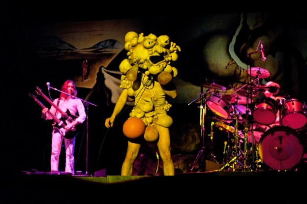 "Canadian band, The Musical Box, replicates Genesis' trippy 1974 ""The Lamb Lies Down on Broadway"" show to a T. Via www.themusicalbox.net."