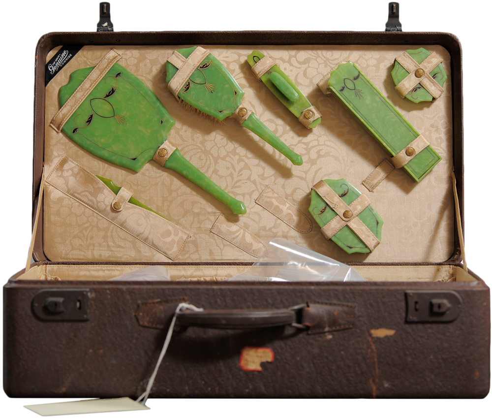 Abandoned Suitcases Reveal Private Lives Of Insane Asylum