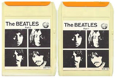 "The Beatles ""White Album"" eight-tracks got Burnett hooked on the format."