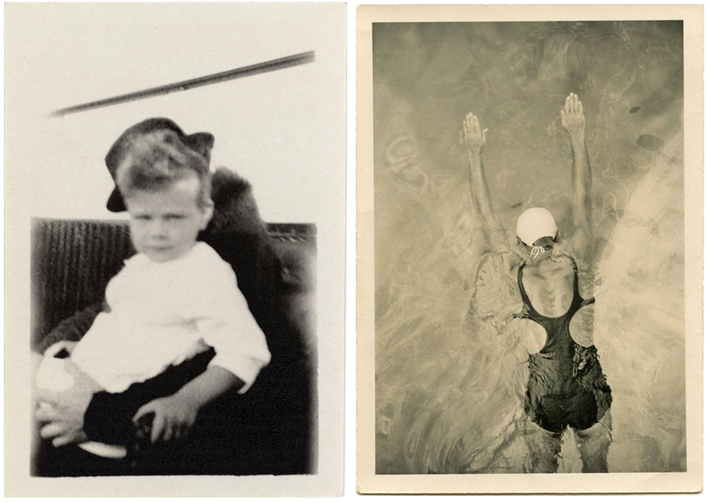 Two enigmatic photos from Foster's collection.
