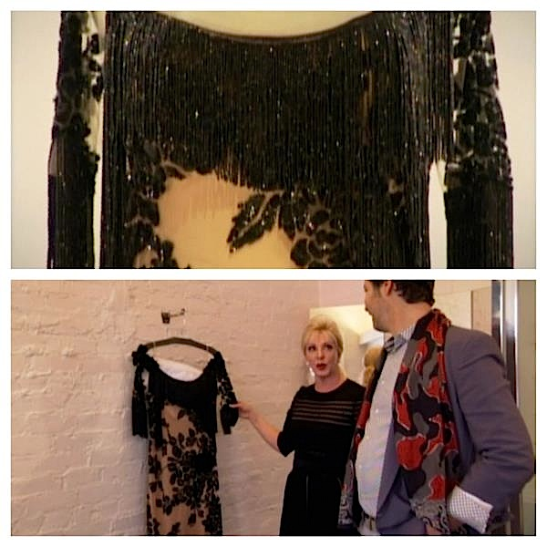 "On ""Dukes of Melrose,"" socialite Patricia Kennedy shows Cameron Silver a 1980s Givenchy that she once bought for more than $50,000. Later Silver learned that the gown was designed by the late Alexander McQueen. Via the ""Dukes of Melrose"" Facebook page."