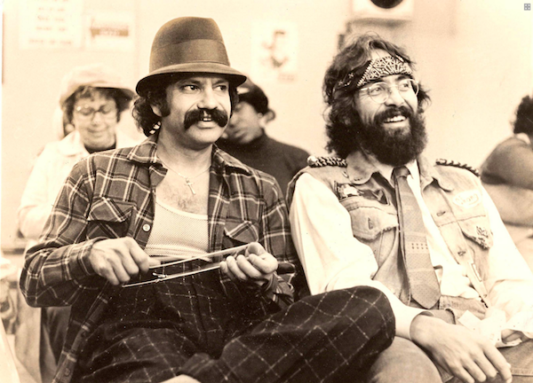 Cheech and Chong, back in the day. The comedy duo is currently touring again.
