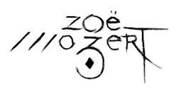 Chicago ad man Doan Powell designed Mozert's trademark signature.