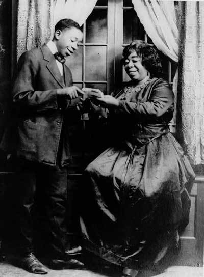 Ma Rainey, who was bisexual, got her stage name when she married vaudeville performer Pa Rainey. (Via NotesOnTheRoad.com)