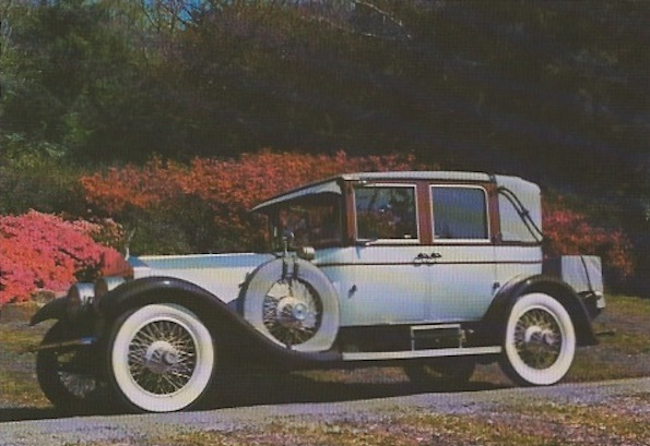 "A 1923 Rolls Royce ""Silver Ghost"" Tilbury cabriolet limousine that T.L. Osborn and his family restored. (Courtesy of LaDonna Osborn)"