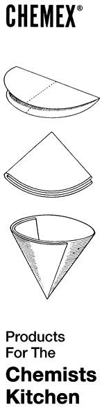 How to fold the Chemex filter.