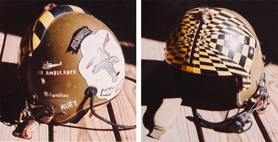 Fighter Pilot Motorcycle Helmet Guts and Gumption: Vie...