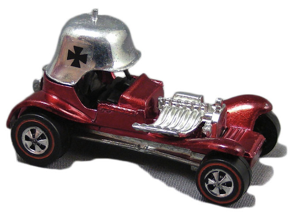 "When Schools happened upon a Red Baron car on eBay as an adult, it ""pushed the kid button"" and got him collecting again."